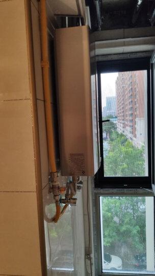 海尔(Haier)13升燃气热水器变频恒温节能省气低水压启动强排式燃热JSQ25-13UT(12T)天然气 晒单图