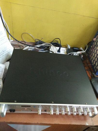 新科(Shinco)AV-112 数字hifi功放机 专业定压定阻功放器蓝牙广播功放450W(银色) 晒单图