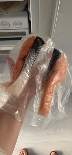 美威 智利三文鱼切块(大西洋鲑)380g/去刺去骨 含Ω3 BAP认证  生鲜 海鲜水产 晒单图