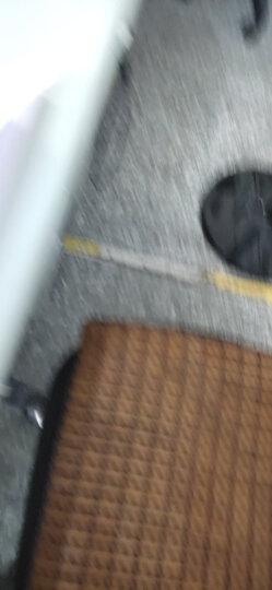 春龙凉席垫子麻将席坐垫夏季椅垫防滑沙发凉垫软垫汽车用办公椅连体座竹垫子可定制尺寸 糯色经典 40x40cm 晒单图