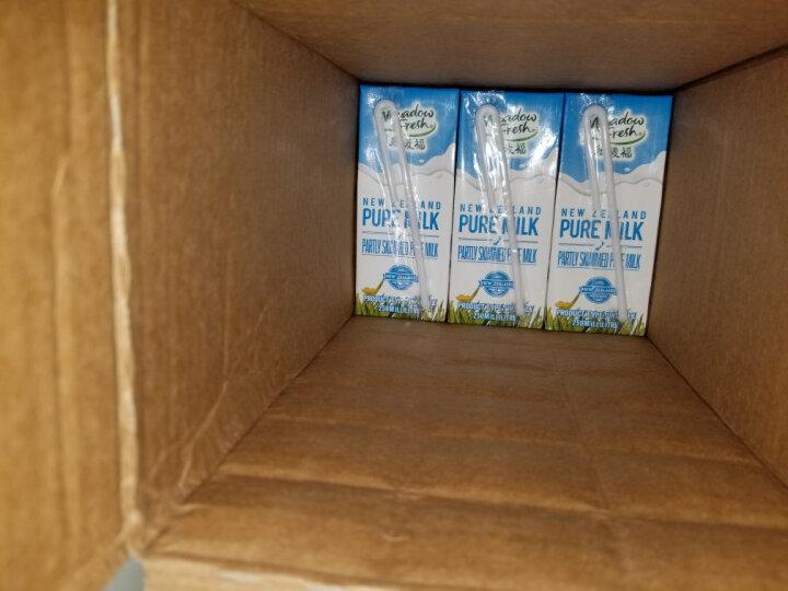 新西兰进口牛奶 纽麦福 3.5g蛋白质高钙全脂纯牛奶1L*12盒 整箱装 晒单图