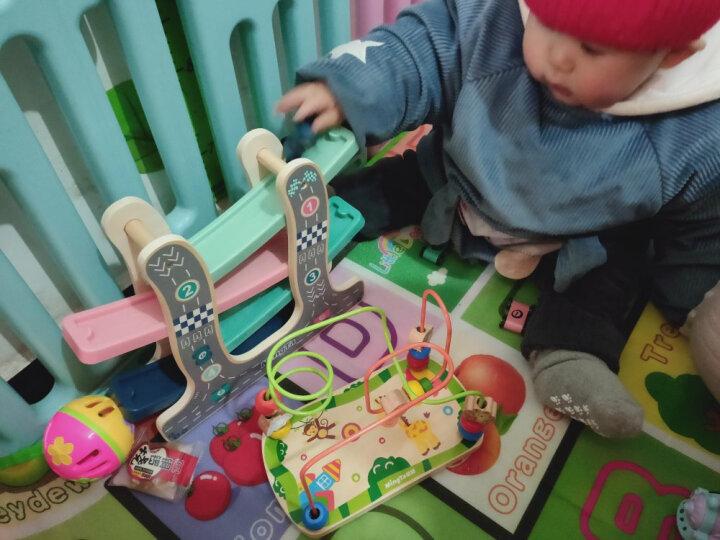 铭塔婴幼儿童绕珠串珠玩具 男女孩宝宝6-12个月木制 启蒙早教智力0-1-2-3周岁生日礼物 晒单图
