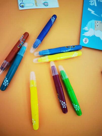 马培德(Maped) 丝滑炫彩棒小学生可水洗油画棒 幼儿园儿童彩色绘画涂鸦旋转蜡笔 12色收纳盒装 836112CH 晒单图