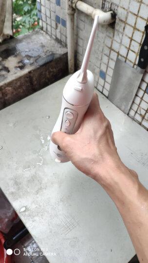 博皓(prooral)冲牙器/洗牙器/水牙线/洁牙器 非电动牙刷 便携式设计 5025(原5002升级版)天空蓝 晒单图