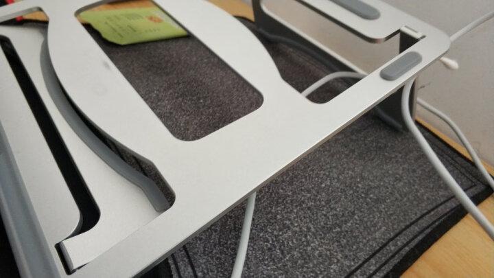 绿巨能(llano)笔记本支架 升降桌3档调节 笔记本散热器 便携折叠电脑支架 置物架 笔记本显示器支架 散热器M2 晒单图
