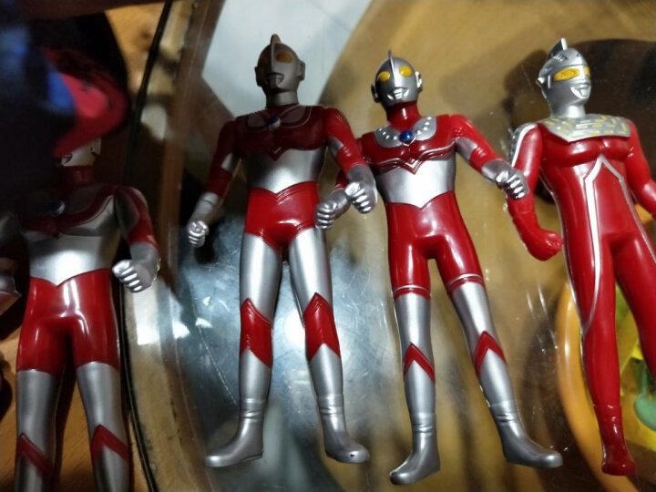 正版奥特曼玩具变身器泰罗赛文对战怪兽模型儿童玩具套装 奥特曼经典5寸套装(8超人) 晒单图