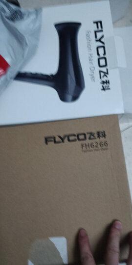 飞科(FLYCO)电吹风机家用FH6266大功率吹风筒负离子 2000W 晒单图