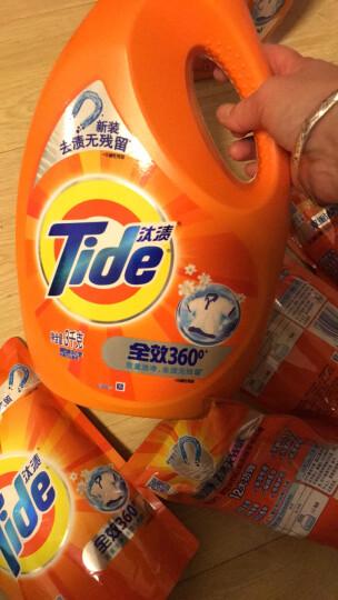 汰渍 Tide 洁净除菌洗衣液(洁雅百合香)超值套装18斤(3KG*2瓶+500G*6袋装) 家庭装 晒单图