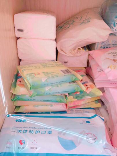 全棉时代 婴儿湿巾 新生儿湿纸巾宝宝湿抽纸巾随身便携装 20抽*10包 晒单图