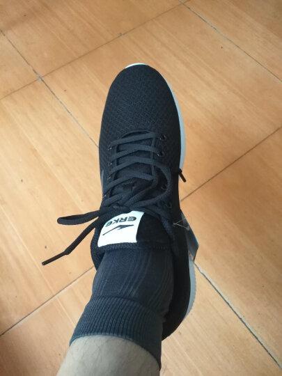 鸿星尔克ERKE 女鞋运动休闲透气防滑运动女慢跑鞋  12117202113 浅灰 36 晒单图