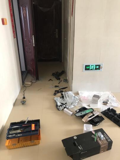 三星(SAMSUNG)指纹锁 SHP-DP728 电子门锁 智能门锁密码锁防盗门家用 SHP-DP728香槟金 晒单图