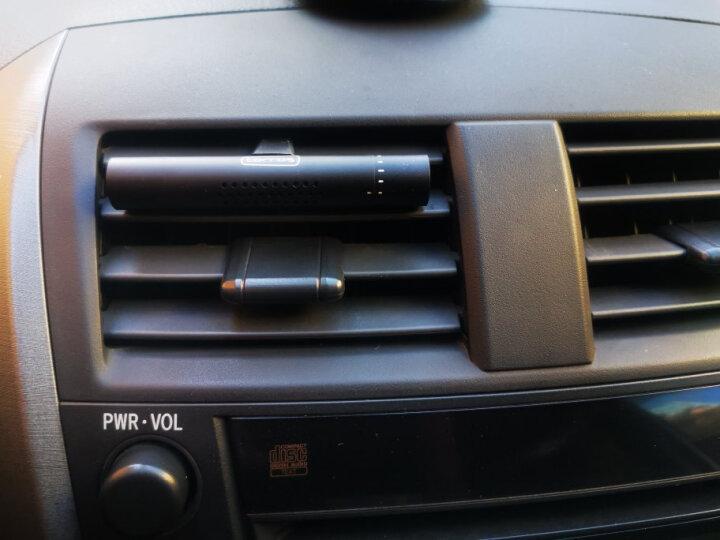图拉斯(TORRAS)汽车香水 车载香水出风口车用香水汽车用品摆件车载香薰车内饰品除味香膏空气清新剂 黑色 晒单图