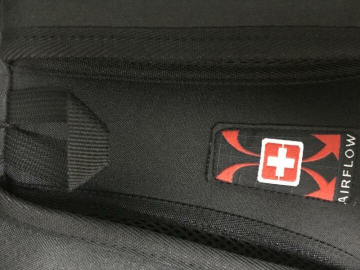 瑞士军刀双肩包男女学生书包 商务休闲旅行背包15.6英寸笔记本电脑包 SA-678深灰色WESHIGEAR系列 晒单图