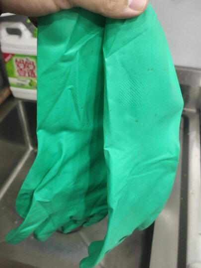 爱马斯(AMMEX) ammex爱马斯加厚丁腈抵酸碱耐腐蚀油防水手套 大号L 晒单图