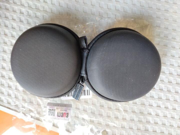 BUBM TSX 数据线U盾U盘蓝牙耳机整理收纳包收纳盒 迷你便携小耳机盒 黑色中号 晒单图