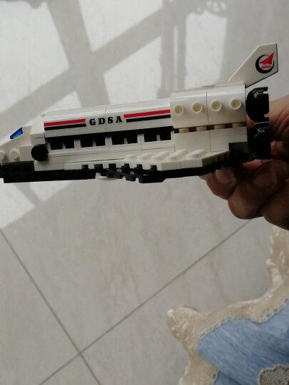 古迪儿童积木拼装玩具兼容乐高小颗粒积木玩具 男孩火箭航天飞机模型生日玩具6-10-14岁 国际机场+大型客机89128913 晒单图