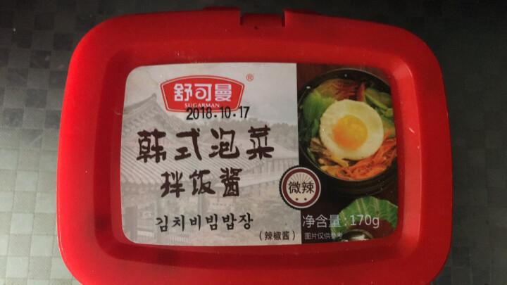 舒可曼 韩式泡菜酱 170g 晒单图