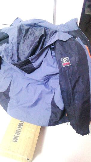 南极人(Nanjiren)冲锋衣裤男女三合一两件套防风防水透气保暖户外登山滑雪服 男黑色 XL 晒单图
