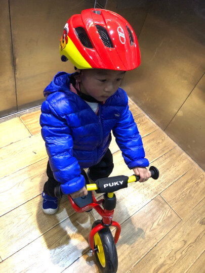 PUKY德国儿童平衡车无脚踏自行车小孩滑步车原装进口宝宝单车1-2-4岁入门级平衡车LRM系列 红黄1700 晒单图