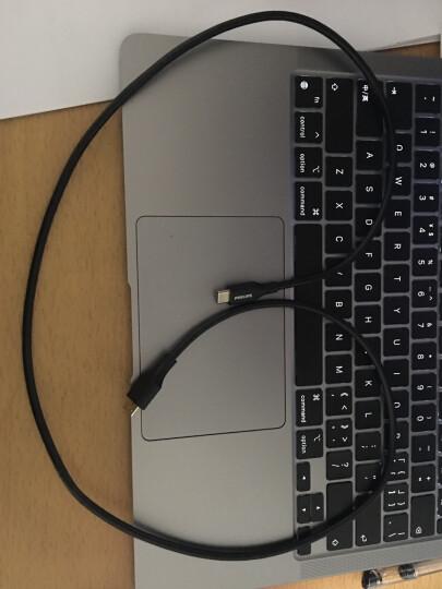 飞利浦(PHILIPS)Type-c转micro usb3.0硬盘数据线 USB-C适用于Mac连接移动硬盘盒连接线 1米 晒单图