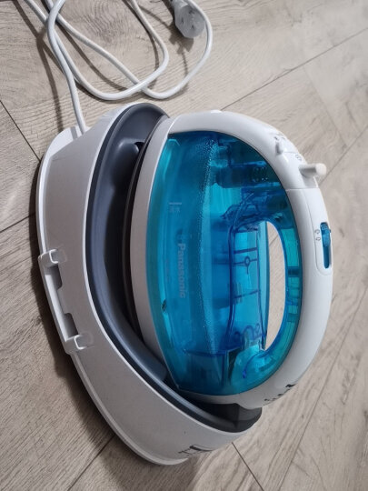 松下(panasonic)电熨斗家用 手持蒸汽挂烫机 无线蒸汽熨烫 NI-WL30 蓝色 晒单图