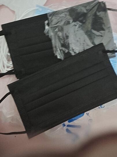 适美佳三层一次性无纺布口罩 防尘颗粒物 蓝色50只装(经济装) 晒单图
