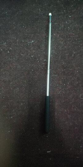 欧德斯曼 1米1.2米 可伸缩教鞭电子白板触摸笔 黑板教鞭指挥旗杆售楼沙盘指示毛毡头触控笔 可伸缩 1米 银色(蘑菇头) 晒单图