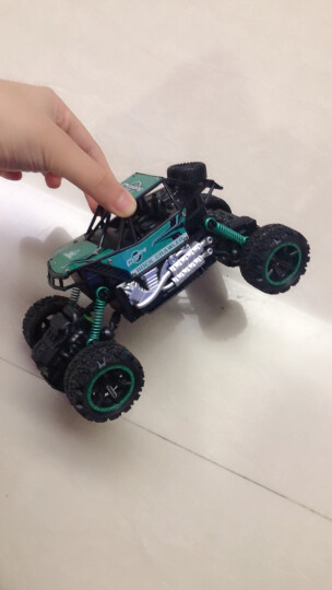 益米 儿童玩具男孩女孩 遥控车遥控电动赛车玩具 车模型 生日礼物(颜色随机发货)新年礼物 晒单图