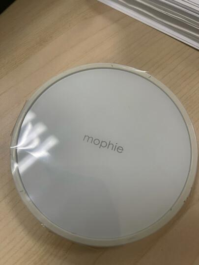 Mophie苹果12无线充电器10w快充版适用华为三星iPhone13pro Max含充电插头 黑色镜面(可充airpods2) 7.5w苹果推荐品牌无线充电器 晒单图