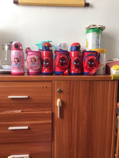 迪士尼(DISNEY) 儿童保温杯带吸管316不锈钢小学生男女杯子智能温显大容量礼盒水壶 8061-苏菲亚粉色600ml 晒单图