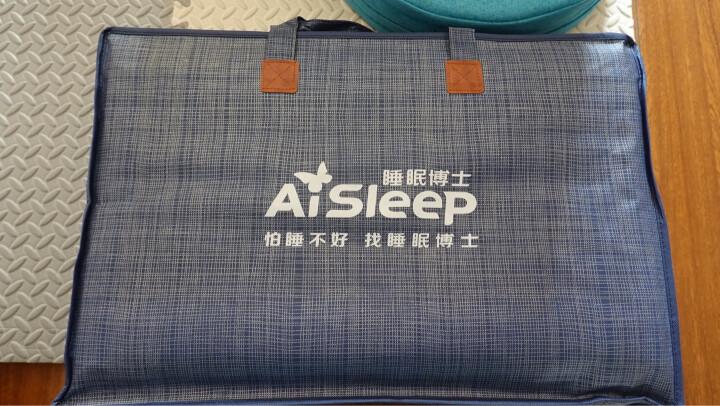 睡眠博士(AiSleep)枕头 释压按摩颗粒泰国乳胶枕进口天然乳胶枕 成人睡眠橡胶波浪颈椎枕芯 晒单图