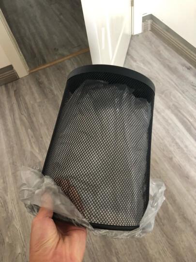 五月花 9L中号分类金属网垃圾桶 厨房卫生间家用清洁桶 办公环保纸篓φ240mm  TS102 晒单图