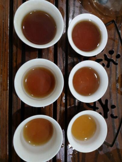 普洱茶熟茶老茶头散茶 古润金芽景迈古树茶 06年老茶 茗冠 云南茶叶 500克木桶装 晒单图