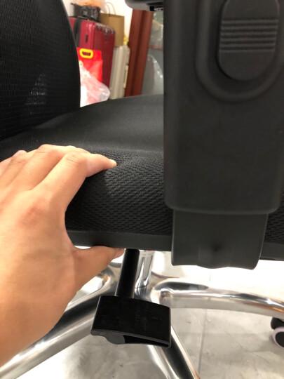 西昊(SIHOO) 人体工学电脑椅子 家用老板椅电竞椅 靠背转椅座椅 撑腰办公椅可躺 M18脚踏可躺 晒单图