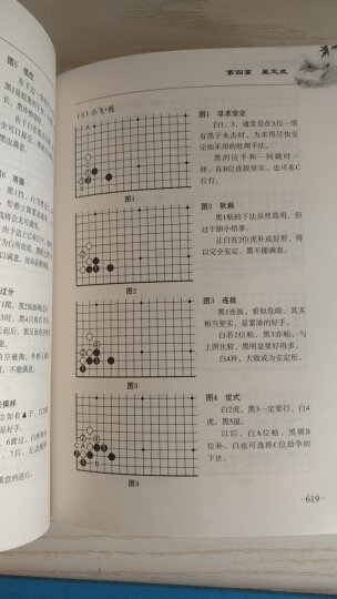 新编围棋常型技巧大全(套装上下册) 晒单图