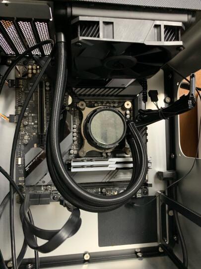 乔思伯(JONSBO)UMX3侧透版本 银色 MINI-MATX机箱(支持MATX主板/全铝外壳/ATX电源/5.0厚度钢化玻璃侧板) 晒单图
