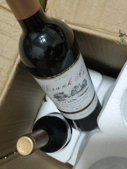 法国原酒进口甜红酒 甜型葡萄酒 2支装 特价送酒杯酒具750ml*2 晒单图