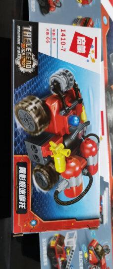 启蒙(ENLIGHTEN)儿童玩具男孩礼物兼容乐高拼插拼装积木军事系列8合1航母战斗群 晒单图