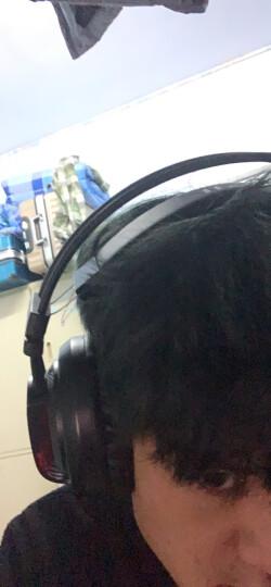 西伯利亚(XIBERIA)V10 游戏耳机头戴式 电脑耳机带麦 电竞吃鸡耳机 发光震动版 红色 晒单图