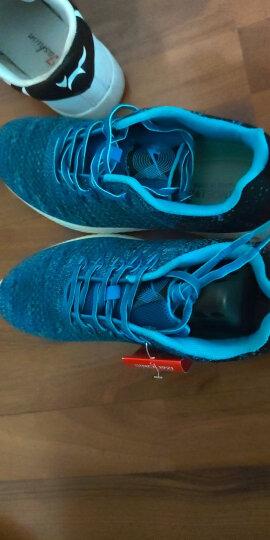 双星跑步鞋透气轻质缓震气垫慢跑鞋男士休闲运动鞋 M9055 黑色 44 晒单图