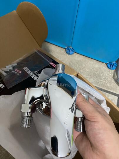 BSITN 波士顿卫浴面盆水龙头 全铜内芯冷热可旋转单孔龙头 卫生间洗手盆浴室柜龙头B8027 晒单图