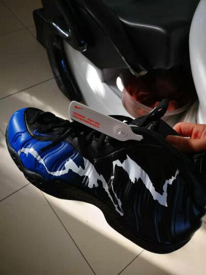 【现货】耐克(NIKE) Nike Air Foamposite Pro 哈达威篮球鞋 喷泡系列 575420-003钻石波点喷 44 晒单图
