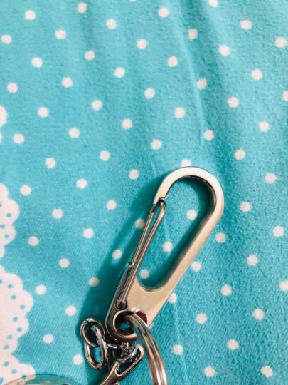 丛林豹不锈钢男士腰挂金属钥匙扣创意汽车用品钥匙链挂件金属钥匙圈 丛林豹不锈钢镜面工艺Z1 晒单图