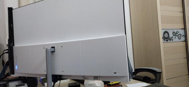 松人 27英寸显示器 带内置音响 ips 可壁挂 全面监控 游戏办公 白色台式电脑屏幕 磨砂黑 晒单图