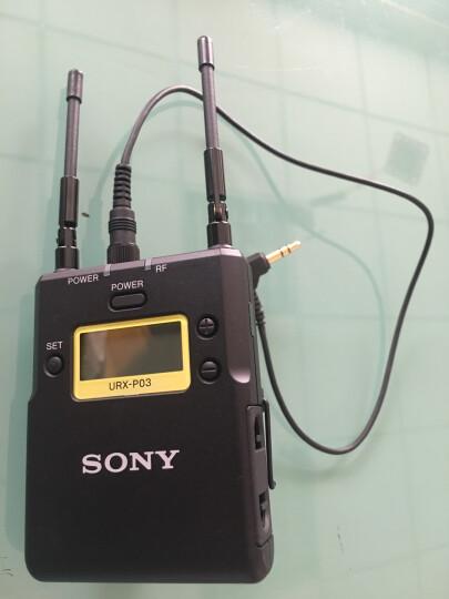 索尼(SONY) UWP-D11领夹式无线麦克风 (小蜜蜂) 无线话筒 3.5对3.5音频线 晒单图