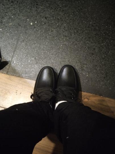 厨王男鞋厨师鞋厨房专用防滑工作鞋防水防油劳保鞋男士运动休闲黑色皮鞋春夏季鞋子休闲鞋 厨王5号-黑色标准款 42 晒单图