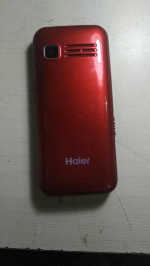 海尔(Haier) M360 老人手机 移动联通 双卡双待  老年机 红色 老年版 晒单图