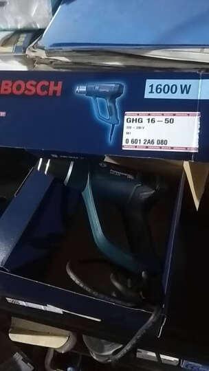 博世(BOSCH)热风枪汽车热风抢吹热缩膜烤枪大功率工业电热吹风机电动工具 GHG18-60【三档调温1800W】 晒单图