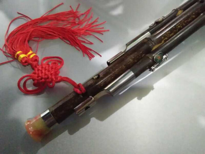 里歌 LIGE葫芦丝民族乐器天然紫竹降B/C调可拆卸成人学生儿童初学 C调 晒单图