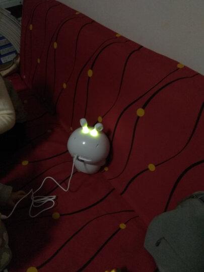 童之声 智能机器人宝宝玩具男女孩早教益智早教机wifi聊天点读笔故事机学习机陪伴机器人国学机1-3岁 白色(送话筒) 晒单图